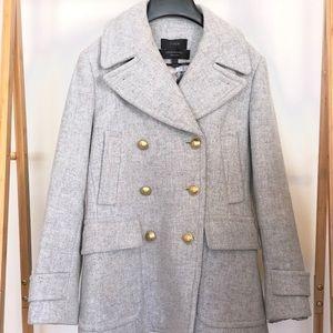 J Crew Heritage Wool Blend Peacoat for sale
